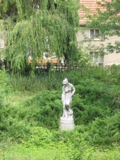 Bechlín - park vily Augusta Švagrovského