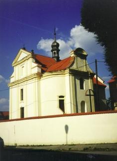 Bechlín - kostel sv.Václava