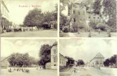 Bechlín - r.1912 - náves, vila Augusta Švagrovského
