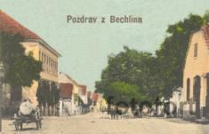 Bechlín - r.1916