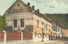 Bechlín - r.1916 - pošta