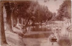 "Bechlín - r.1901 - ""nádržka"""
