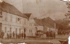 Bechlín - r.1914  čp.90 (dnes truhlárna)